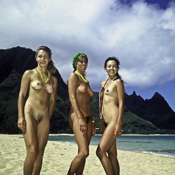 Beach in nude oahu everything