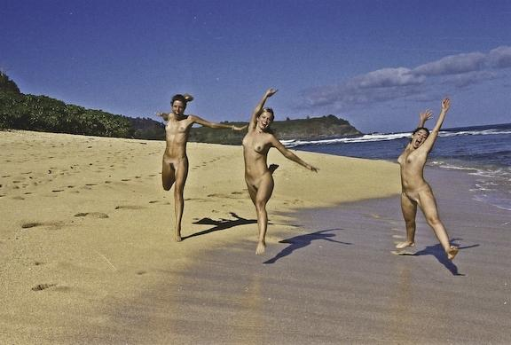 Nude beach in kauai